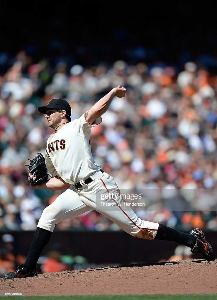 <a gi-track='captionPersonalityLinkClicked' href=/galleries/search?phrase=Barry+Zito&family=editorial&specificpeople=202943 ng-click='$event.stopPropagation()'>Barry Zito</a> #75 of the San Francisco Giants pitches against the Colorado Rockies in the seventh inning at AT&T Park on April 10, 2013 in San Francisco, California.