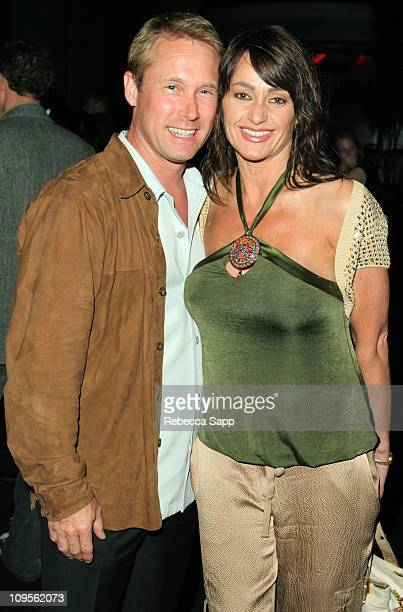 Bart Conner and Nadia Comaneci during Bebe Hosts 2005 Los Angeles Film Festival Party at Hollywood Palladium in Hollywood California United States