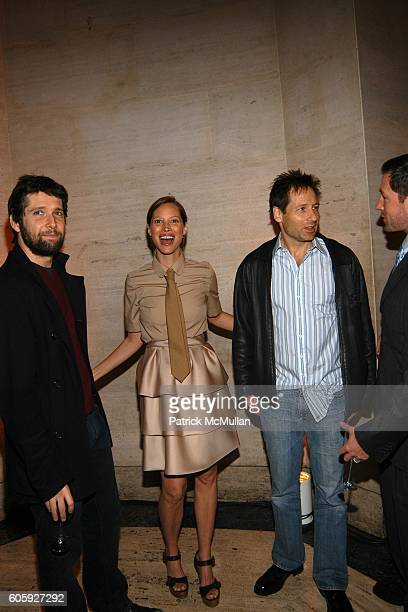 Bart Freundlich Christy Turlington and David Duchovny attend VANITY FAIR Tribeca Film Festival Party hosted by Graydon Carter and Robert DeNiro at...