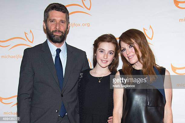 Bart Freundlich Liv Freundlich and Julianne Moore attend 2014 A Funny Thing Happened On The Way To Cure Parkinson's at The Waldorf Astoria on...