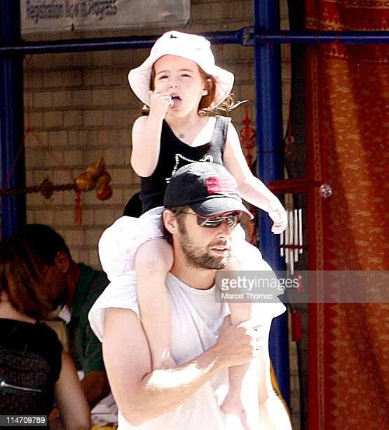 Bart Freundlich with daughter Liv Helen Freundlich