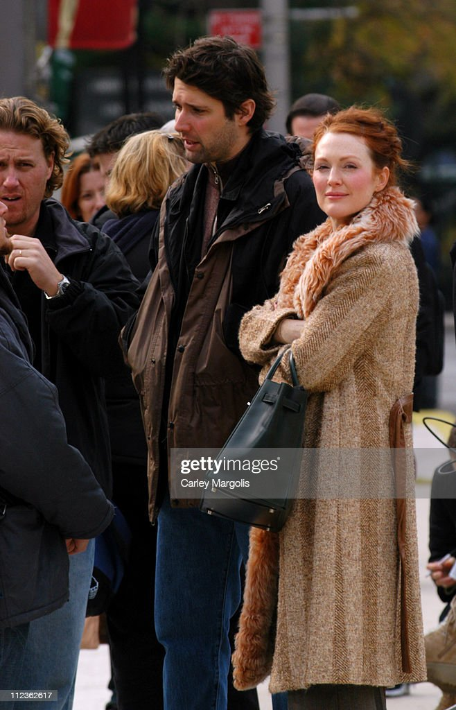 Julianne Moore, Billy Crudup, David Duchovny and Bart ...