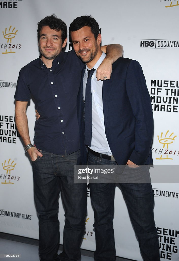 Bart Layton and Dimitri Doganis attends the 6th Annual Cinema Eye Honors For Nonfiction Filmmaking at Museum of the Moving Image on January 9, 2013 in New York City.