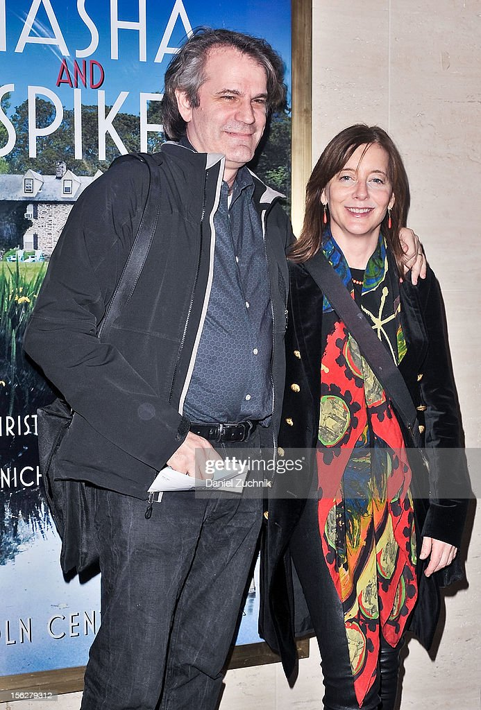 <a gi-track='captionPersonalityLinkClicked' href=/galleries/search?phrase=Bartlett+Sher&family=editorial&specificpeople=2487092 ng-click='$event.stopPropagation()'>Bartlett Sher</a> and Kristen Sher attend the 'Vanya and Sonia and Masha and Spike,' press night at Mitzi E. Newhouse Theater on November 12, 2012 in New York City.