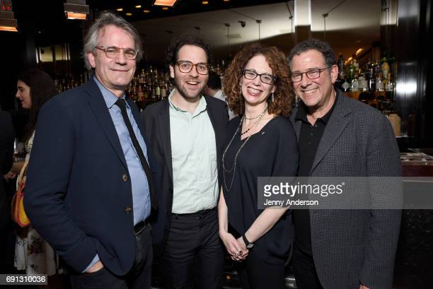 Bartlett Sher Sam Gold Rebecca Taichman and Michael Greif attend Designed To Celebrate A Toast To The 2017 Tony Awards Creative Arts Nominees at The...
