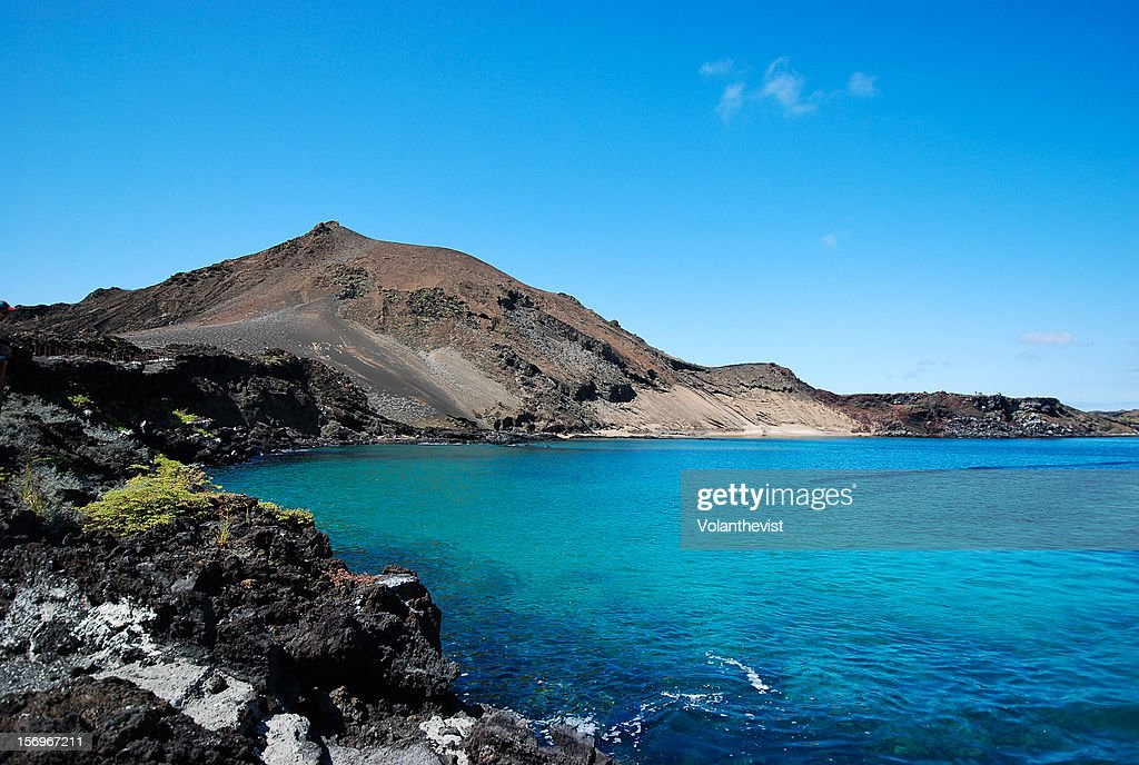 Bartolomé island is a volcanic islet in Galápagos