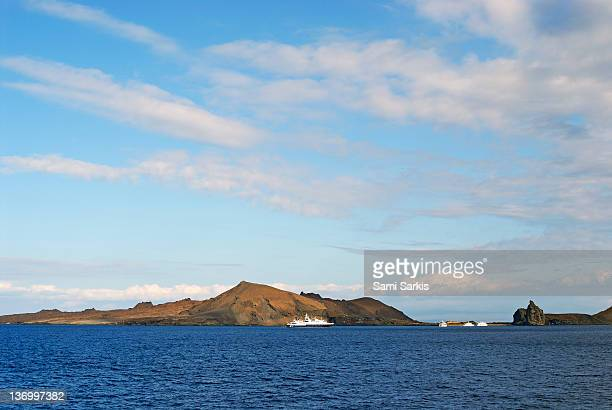 Bartolome Island from sea, Galapagos