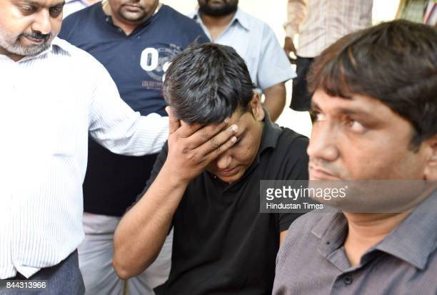 Barun Chander Thakur father of the 8yearold student who found dead in Ryan International School rues loss of kid while waiting outside the mortuary...