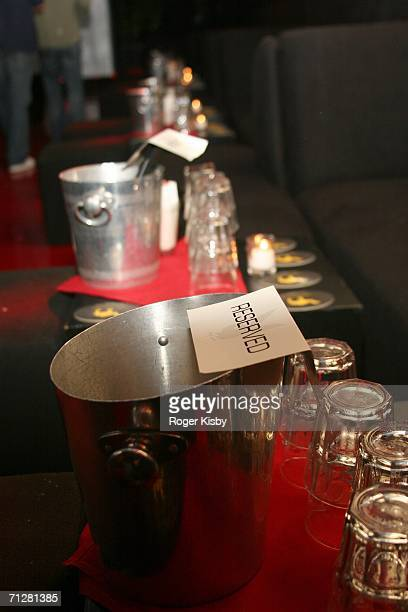 Barware is seen during Damien Fahey's Birthday Celebration at Stereo June 22 2006 in New York City