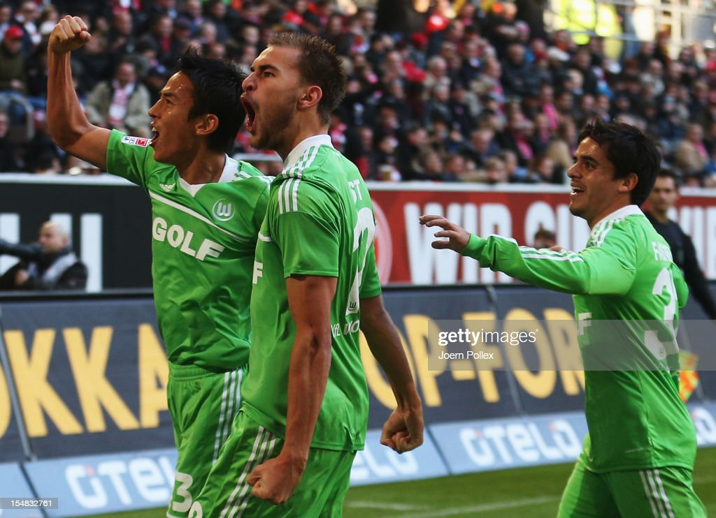 Fortuna Duesseldorf 1895 v VfL Wolfsburg - Bundesliga