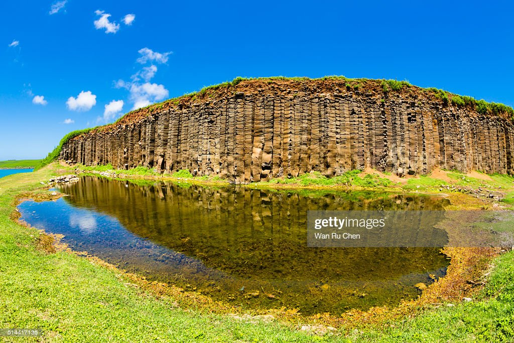 Basalt columns in Taiwan