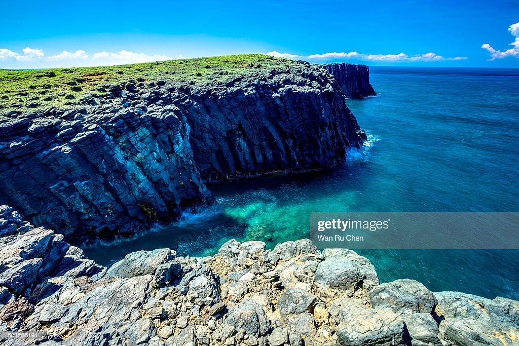 Basaltic Columnar Joint Coast
