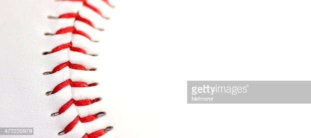 Base ball close up : Stock Photo