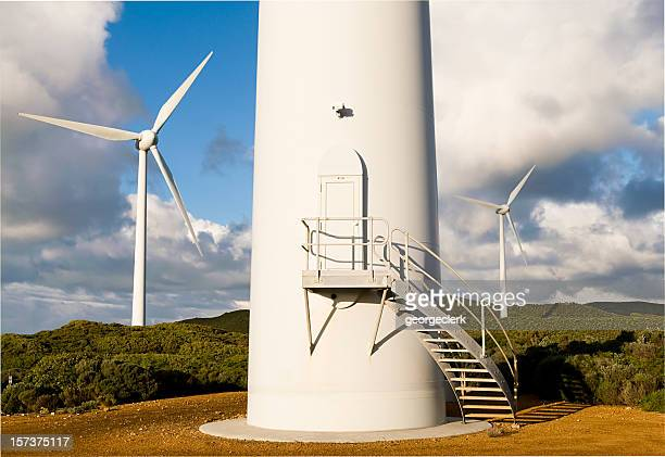 Base of Wind Turbine