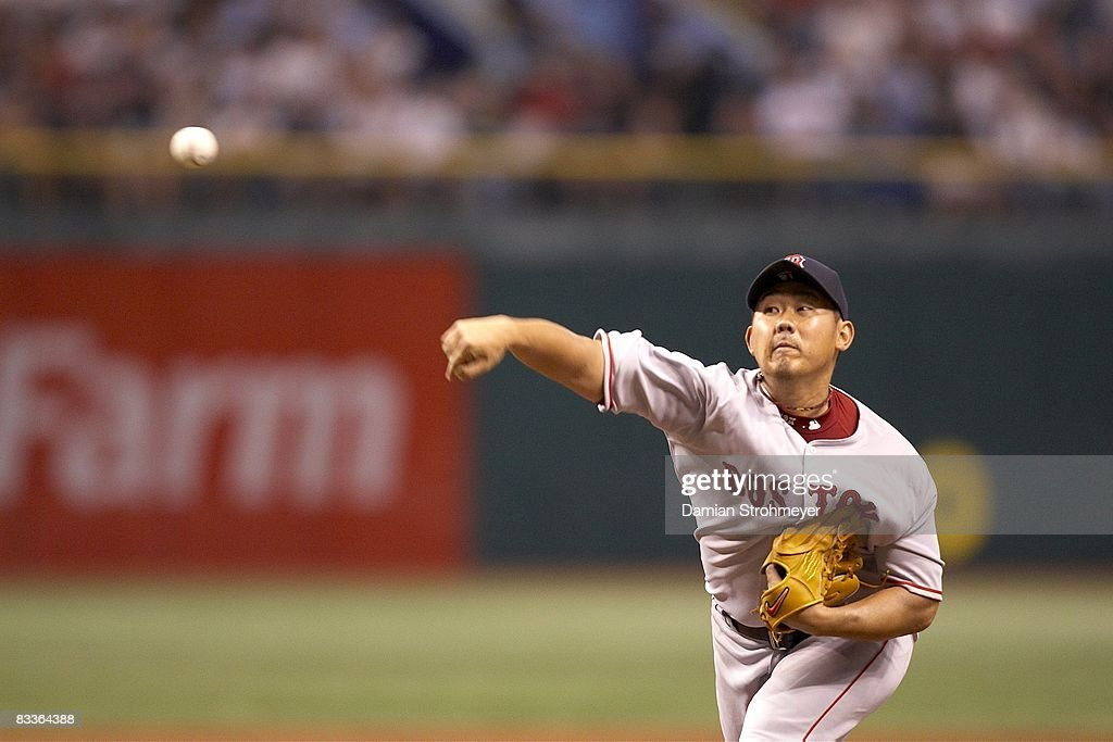 Image result for matsuzaka 2008 alcs game 1