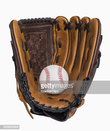 Baseball and Glove : Stock Photo