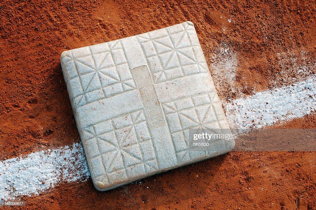 'Baseball Base, Reaching, Sports Equipment'
