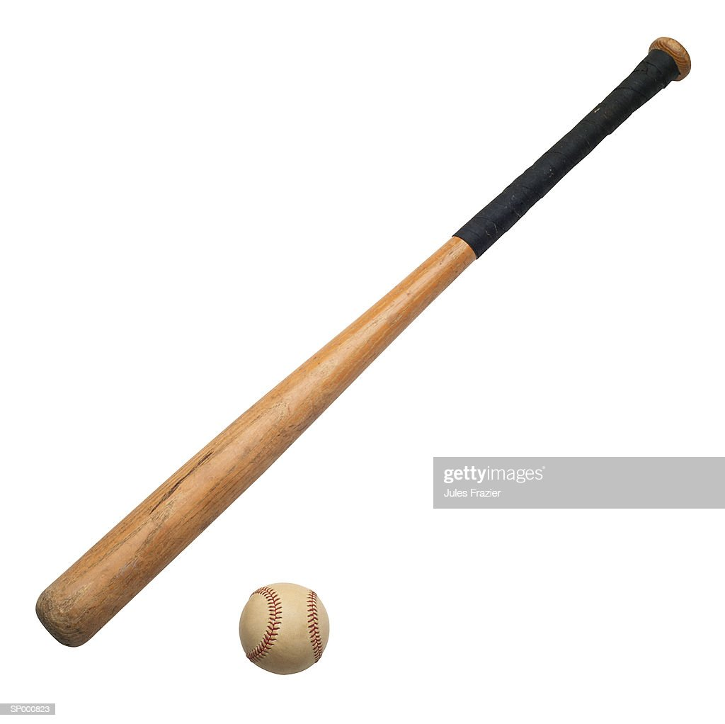Baseball Bat and Baseball