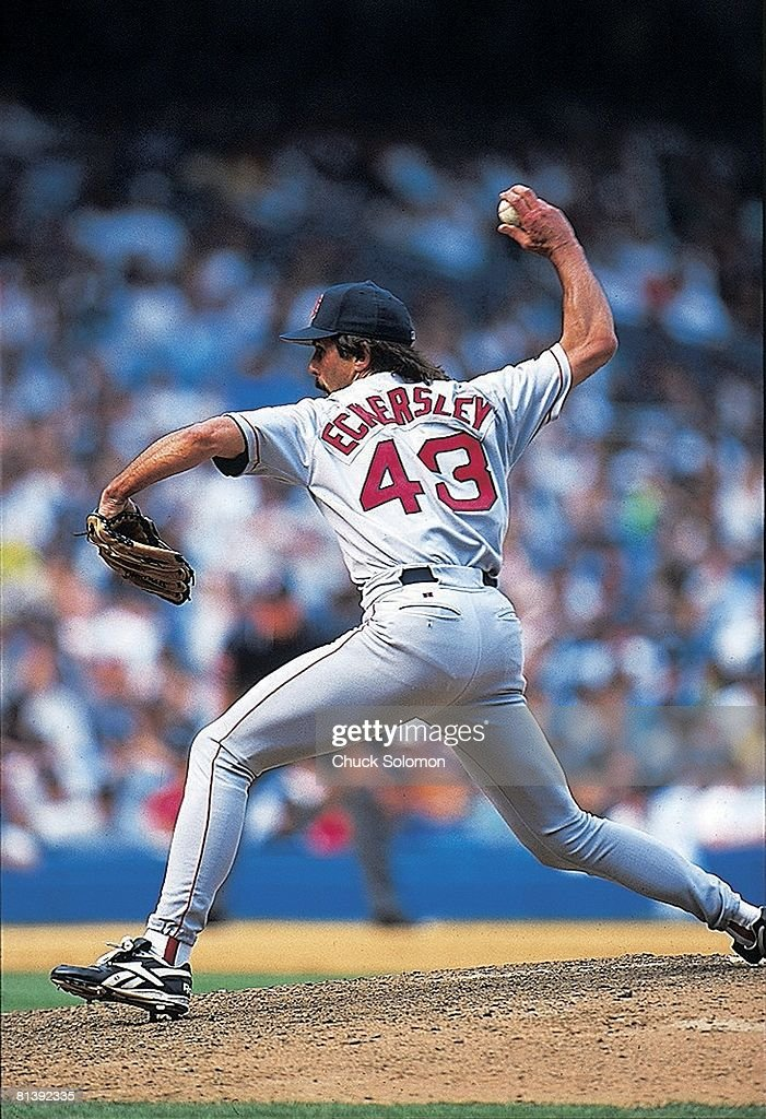 Boston Red Sox Dennis Eckersley... : News Photo