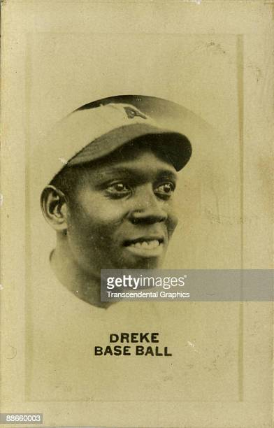 Baseball card features Cuban player Valentin Dreke mid 1920s The card was produced by the Aguilitas brand tobacco products