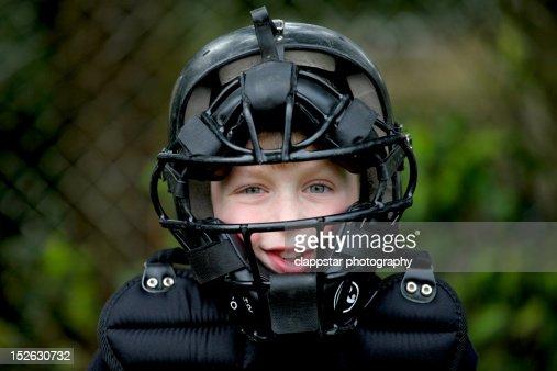 Baseball catcher gear