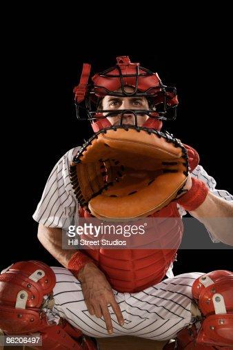 Baseball catcher signaling