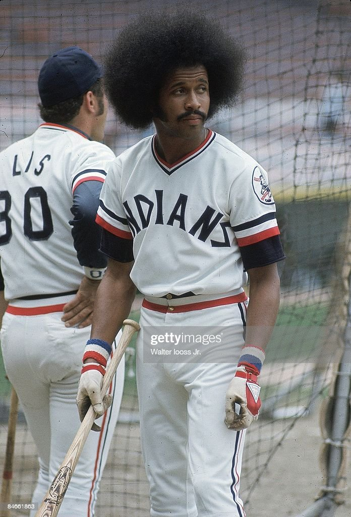 baseball-cleveland-indians-oscar-gamble-before-game-vs-oakland-oh-picture-id84661863