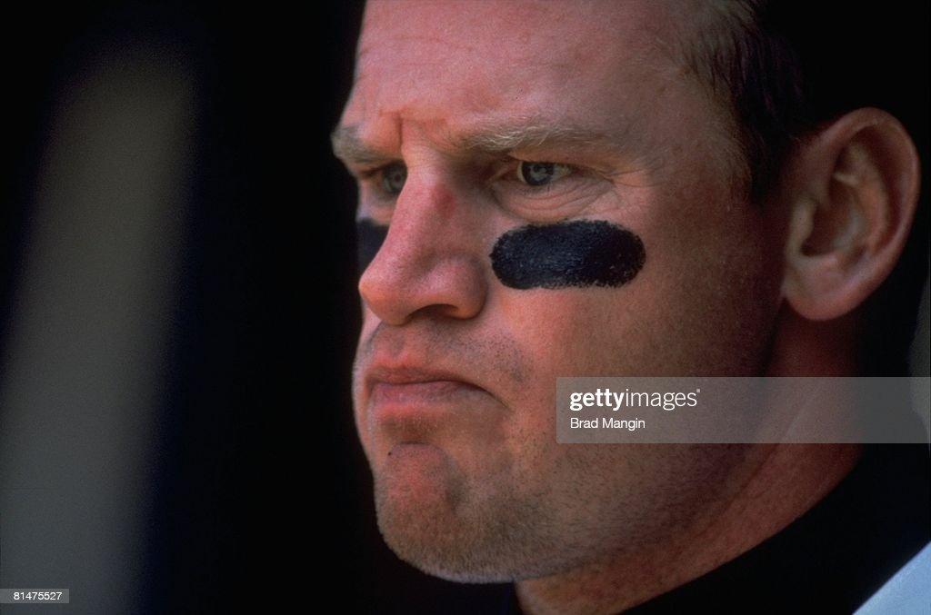 Closeup of San Francisco Giants Matt Williams during game vs St, Louis Cardinals, San Francisco, CA 9/11/1993