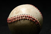 Baseball, close-up