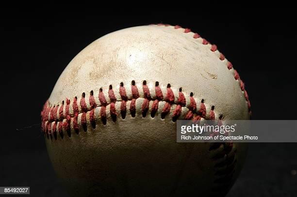 Baseball, close-up
