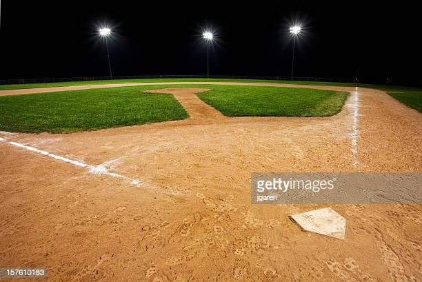 野球場でのご宿泊