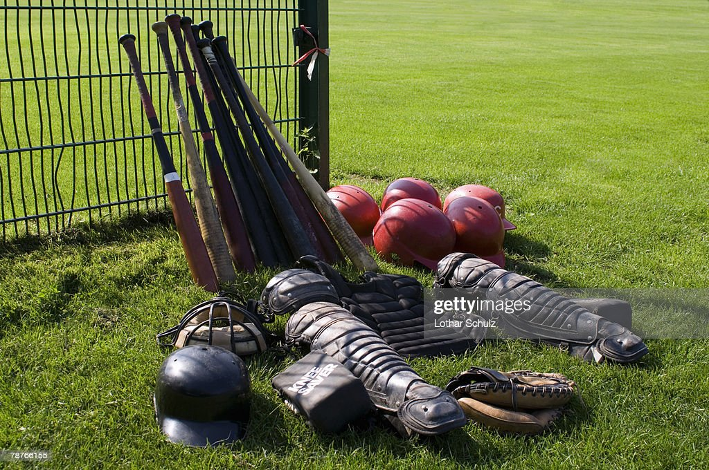 Baseball equipment : Stock Photo
