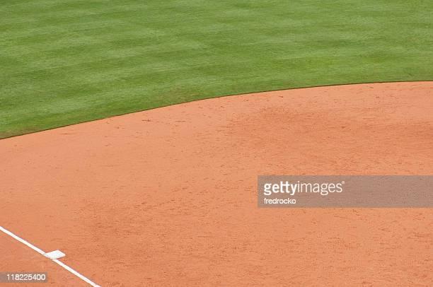 Baseball Field at Baseball Game