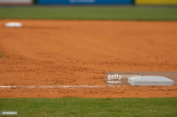 Baseball Field at Major League Baseball Game