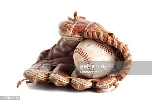 Baseball glove : Stock Photo