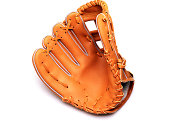 Baseball Glove isolated on a white background