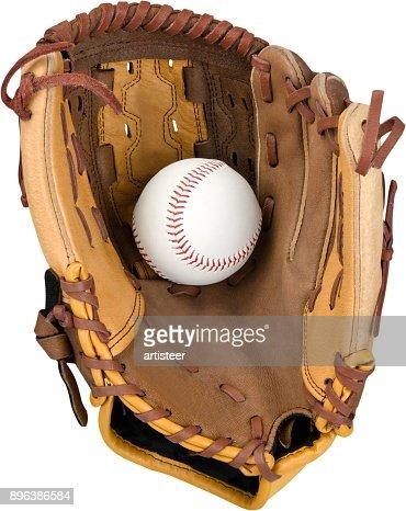 Baseball glove. : Stock Photo