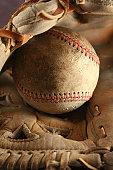 Baseball Glove with Ball`