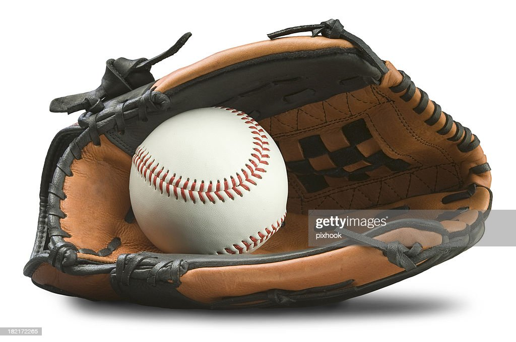 Baseball Glove with Path