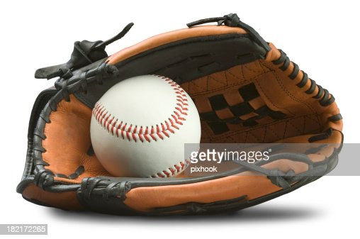 Baseball Glove with Path
