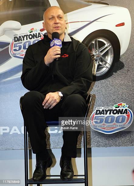 Baseball Hall of Famer Cal Ripken Jr during press conference prior to the NASCARNextel Cup Series2007 Daytona 500 Daytona International Speedway...