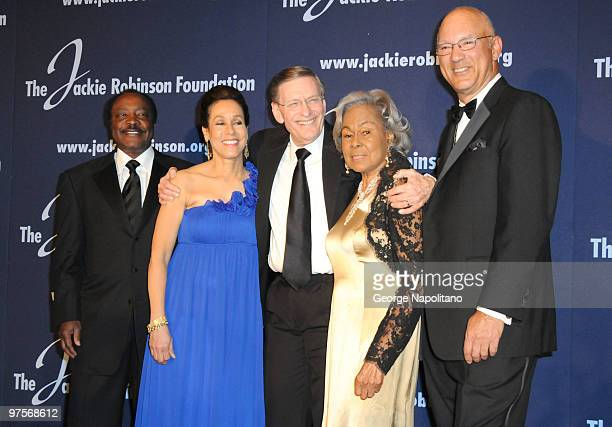 Baseball Hall of Famer Joe Morgan President and Chief Executive Officer Della Britton Baeza CEO of Unilever Paul Polman Chariman Leonard S Coleman Jr...