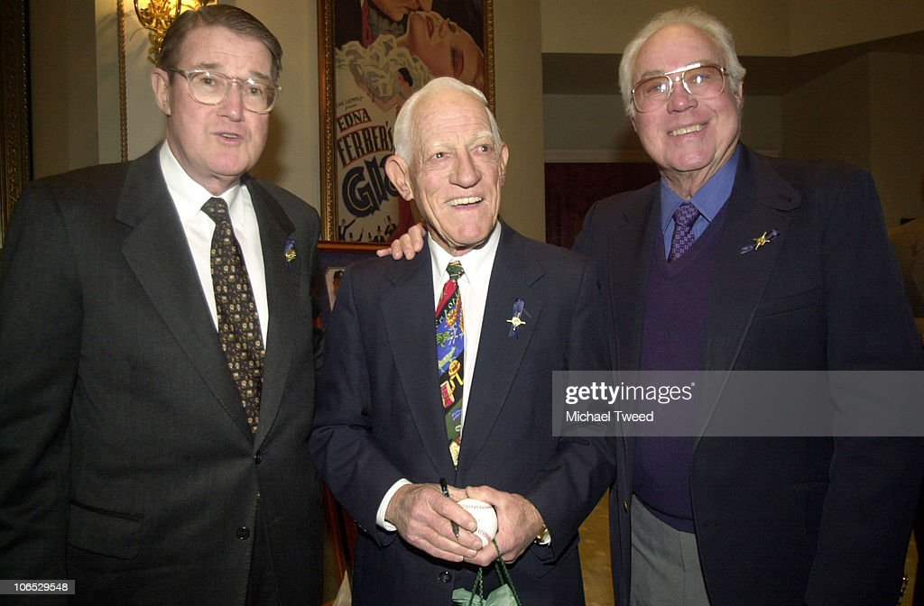 Baseball Hall of Famers <a gi-track='captionPersonalityLinkClicked' href=/galleries/search?phrase=Sparky+Anderson&family=editorial&specificpeople=211246 ng-click='$event.stopPropagation()'>Sparky Anderson</a>, center, and <a gi-track='captionPersonalityLinkClicked' href=/galleries/search?phrase=Duke+Snider&family=editorial&specificpeople=93319 ng-click='$event.stopPropagation()'>Duke Snider</a>, right share a laugh with fromer Dodger owner Peter O' Malley at a reception before The RBI (Reviving Baseball in Inner cities) Hall of Fame Awards Dinner and Annual Fund Raiser Wed. Jan. 30, 2002 at Universal Studios in Universal City, Calif. Snider was on hand to receive the RBI Humanitarian Award.
