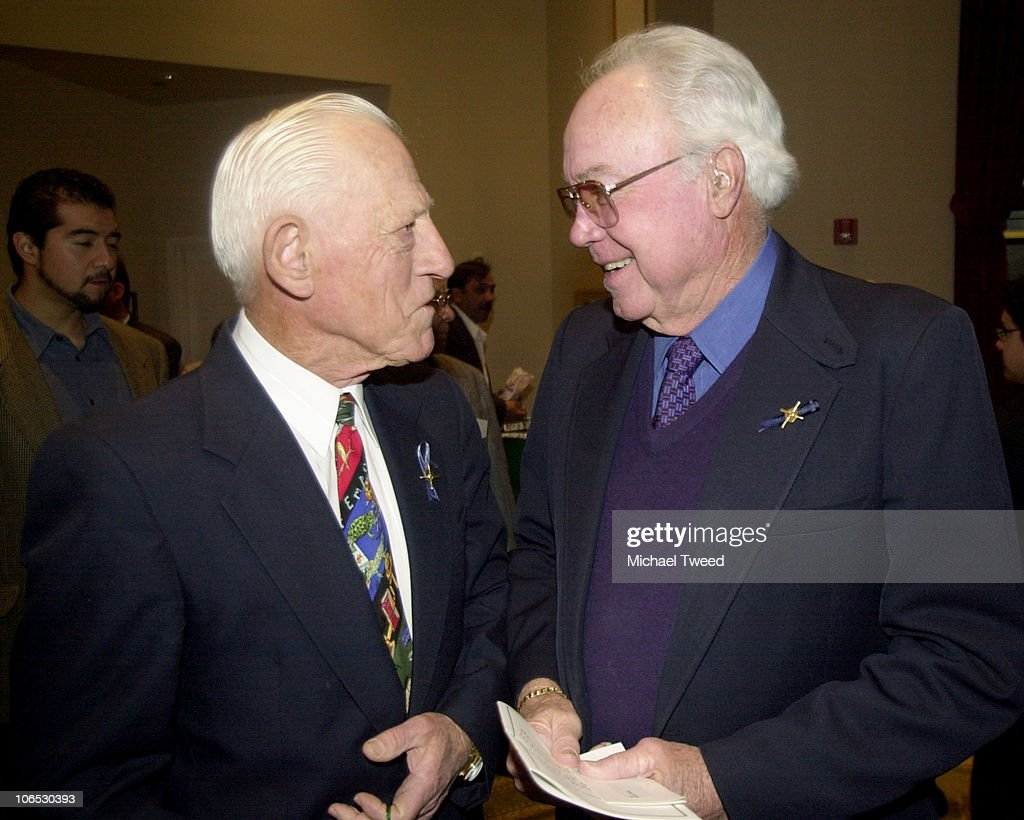 Baseball Hall of Famers <a gi-track='captionPersonalityLinkClicked' href=/galleries/search?phrase=Sparky+Anderson&family=editorial&specificpeople=211246 ng-click='$event.stopPropagation()'>Sparky Anderson</a>, left, and <a gi-track='captionPersonalityLinkClicked' href=/galleries/search?phrase=Duke+Snider&family=editorial&specificpeople=93319 ng-click='$event.stopPropagation()'>Duke Snider</a> share a laugh at a reception before The RBI (Reviving Baseball in Inner cities) Hall of Fame Awards Dinner and Annual Fund Raiser Wed. Jan. 30, 2002 at Universal Studios in Universal City, Calif. Snider was on hand to receive the RBI Humanitarian Award.