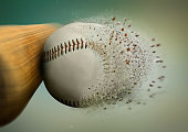 bat and baseball
