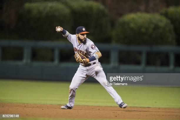 Houston Astros Marwin Gonzalez in action making throw vs Philadelphia Phillies at Citizens Bank Park Philadelphia PA CREDIT Al Tielemans