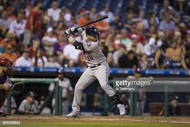 Houston Astros Yuli Gurriel in action at bat vs Philadelphia Phillies at Citizens Bank Park Philadelphia PA CREDIT Al Tielemans