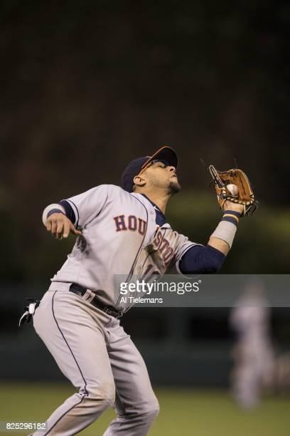 Houston Astros Yuli Gurriel in action vs Philadelphia Phillies at Citizens Bank Park Philadelphia PA CREDIT Al Tielemans