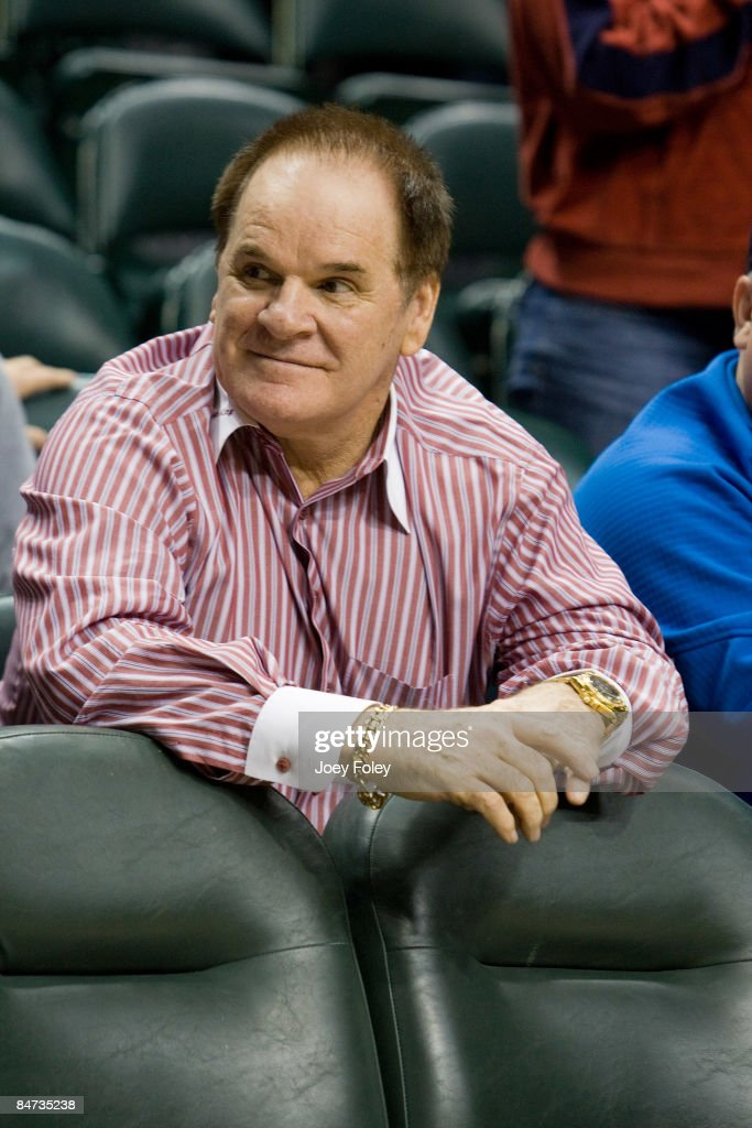 Celebrities Attend Cleveland Cavaliers vs Indiana Pacers - February 10