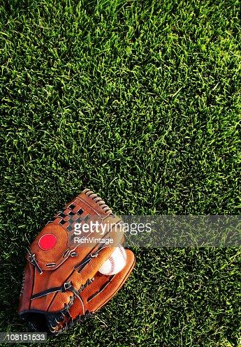 Baseball Mitt Background